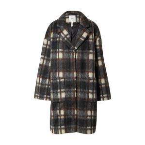 OBJECT Prechodný kabát 'Nina'  béžová / hnedá / tmavohnedá