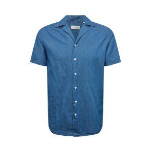 !Solid Košeľa  modrá