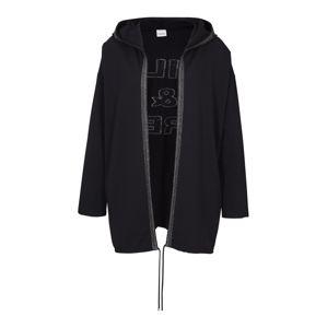 heine Tepláková bunda  čierna