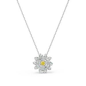 Swarovski Retiazka 'Eternal Flower'  strieborná / žltá
