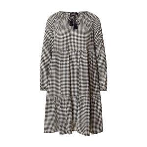 Zwillingsherz Šaty 'Bonnie'  biela / čierna