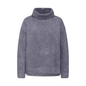 Calvin Klein Sweatshirt 'ROLL NECK LS HWK'  sivá