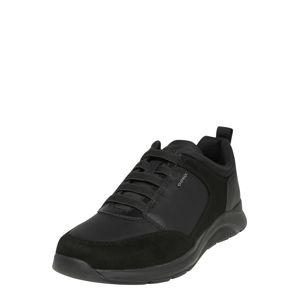 GEOX Slip-on obuv  čierna