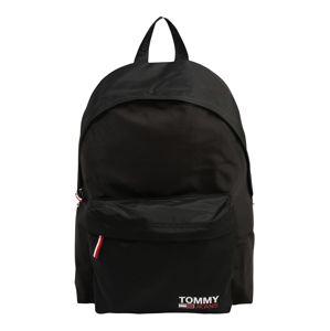 Tommy Jeans Batoh 'Campus Boy'  čierna / biela / červená