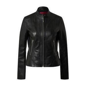 HUGO Prechodná bunda 'Lonia'  čierna