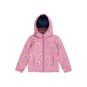 STACCATO Prechodná bunda  ružová / zmiešané farby