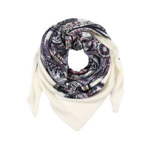 CODELLO Látkové rúško 'Happy'  zmiešané farby / biela