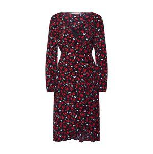 Tommy Jeans Letné šaty  jablková / červené / čierna / biela
