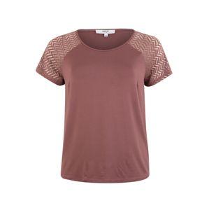 ABOUT YOU Curvy T-Shirt 'Pina'  rosé