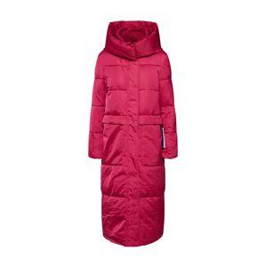 TOM TAILOR Zimný kabát  brusnicová