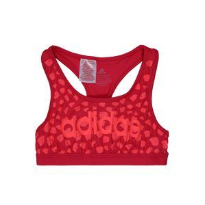 ADIDAS PERFORMANCE Športový top  ružová / červená
