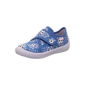SUPERFIT Papuče 'BILL'  modrá / biela / opálová