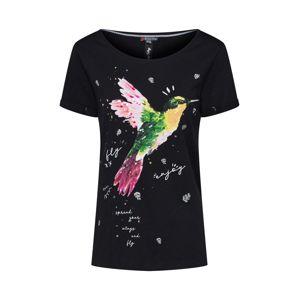 STREET ONE Tričko ''humming bird'  zmiešané farby / čierna