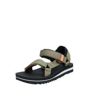 TEVA Trekingové sandále  čierna / béžová