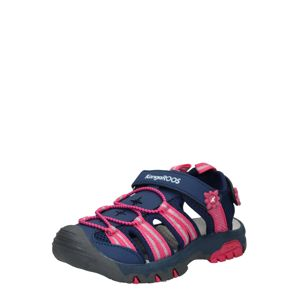 KangaROOS Sandále 'Sonata'  ružová / námornícka modrá