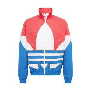 ADIDAS ORIGINALS Prechodná bunda  ružová / kráľovská modrá / biela
