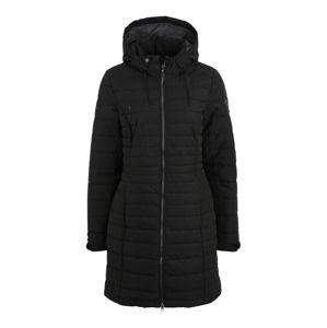 KILLTEC Outdoorový kabát 'Kelyna'  čierna