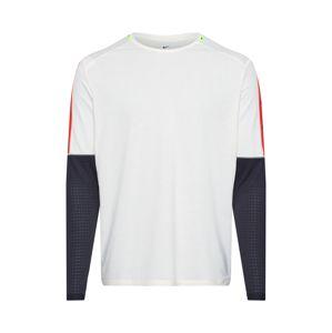 NIKE Funkčné tričko  čierna / béžová