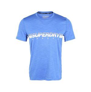 Superdry Funkčné tričko  svetlomodrá