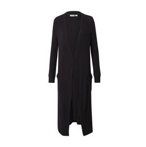Noisy may Pletený kabát 'INDIGO'  čierna