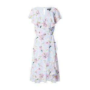 Dorothy Perkins Letné šaty 'Blue Ruffle'  svetlomodrá / ružová