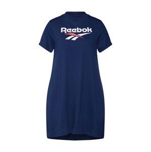 Reebok Classic Šaty  červená / biela / námornícka modrá