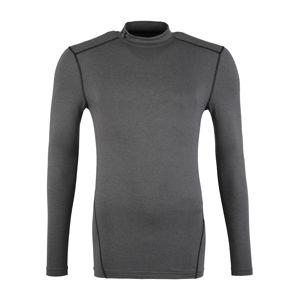 UNDER ARMOUR Funkčné tričko  tmavosivá / čierna
