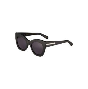 karen walker Slnečné okuliare 'Northern Lights V2'  čierna