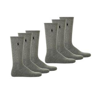 POLO RALPH LAUREN Ponožky  tmavosivá