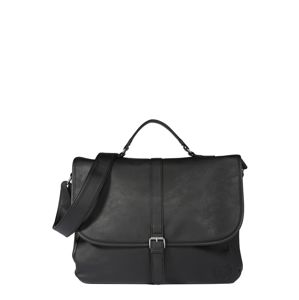 BURTON MENSWEAR LONDON Messenger 'BLACK PU MESSENGER  '  čierna