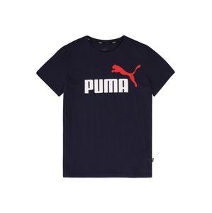 PUMA Funkčné tričko  tmavomodrá / biela / červená