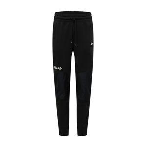 Nike Sportswear Nohavice 'Air'  biela / čierna