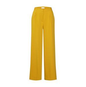 2NDDAY Plisované nohavice 'Megan'  žltá