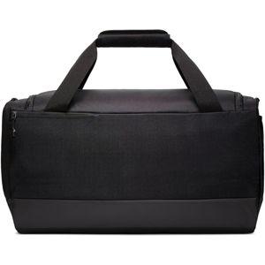 NIKE Športová taška  čierna / biela