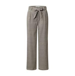 ICHI Chino nohavice  béžová / hnedá