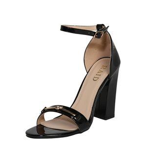 Raid Remienkové sandále 'Chrysta'  čierna