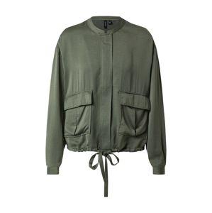 VERO MODA Prechodná bunda 'Freja'  zelená
