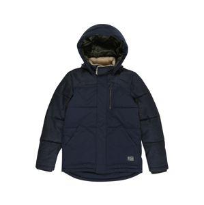 Jack & Jones Junior Zimná bunda 'JORHEAT'  námornícka modrá