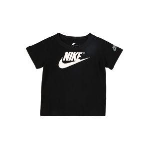 Nike Sportswear Tričko 'The Futura'  čierna / biela