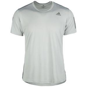 ADIDAS PERFORMANCE Funkčné tričko 'Own The Run'  svetlosivá