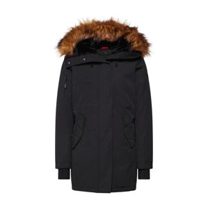 Helvetica Mountain Pioneers Zimná parka 'EXPEDITION WOMEN FAKE FUR'  čierna