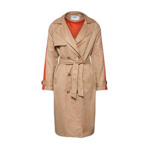 ONLY Prechodný kabát 'ISABELLA'  farba ťavej srsti / oranžová