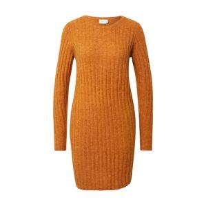 VILA Pletené šaty 'Nikki'  hnedá