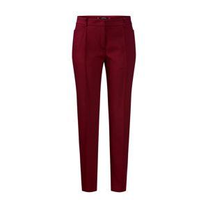 MORE & MORE Nohavice s pukmi  oranžovo červená / tmavočervená