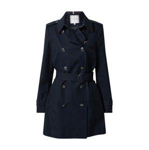 TOMMY HILFIGER Prechodný kabát 'MEGAN'  námornícka modrá