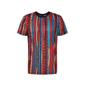 Iriedaily Tričko 'Theodore'  červené / svetlomodrá / svetlooranžové / zmiešané farby