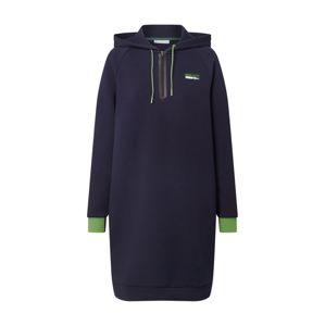 Lacoste Sport Športové šaty  tmavomodrá / kiwi