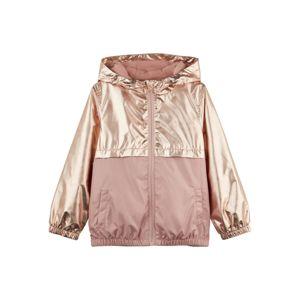 NAME IT Prechodná bunda  ružové zlato / staroružová
