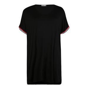 Z-One Šaty 'Bianca'  čierna / biela / červené