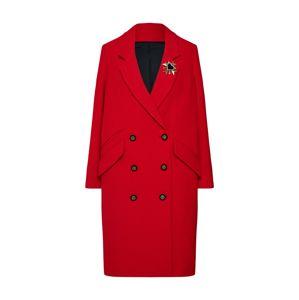 The Kooples Prechodný kabát  červená